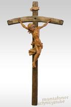 Barocker Christus aus Birnenholz