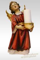 Engel stehend mit Kerze, Kerzenhalter