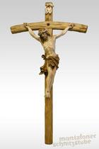 Alpenländischer Christus, gebeizt