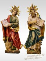 Evangelisten Lukas und Johannes