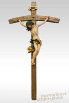 Barockes Kruzifix, lasiert