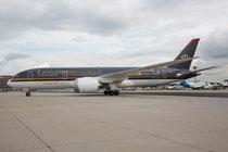 FRA 25.09.2014: JY-BAA Royal Jordanian Airlines Boeing 787-8; Erstlandung