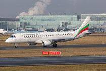 FRA 17.2.2014; LZ-SOF; Bulgaria Air Embraer 190AR