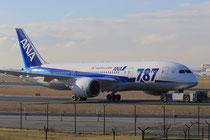 FRA 17.2.2014; JA822A; ANA Boeing 787-8