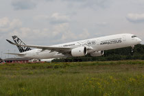 "FRA 26.07.2014; F-WWYB; Airbus 350-900 ""Route proving"""