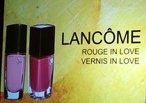 Lancome, Rouge in Love e Vernis in Love