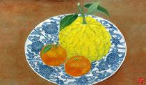 2010年1月 獅子柚子と蜜柑