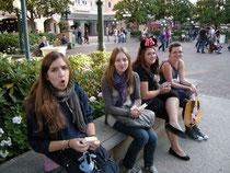 Disneyland - Am Ende eines langen Tages geht es heimwärts