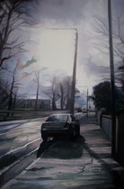 """Bray Streets"" Oil on canvas 50x75cm"