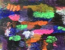Abstract Worlds 020220  Acryl und Tusche in 40x50 auf LW