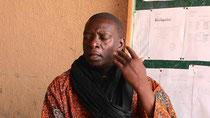 Abibou DIOP, insegnante, Principale del CEM (Scuola media), KAYAR