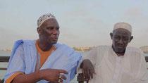 Sada FALL, segretario nazionale del CNPS (Collettivo Nazionale dei Pescatori Artigianali del Senegal)  -  Mandraye YOOTE, membro fondatore del CNPS (Collettivo Nazionale dei Pescatori Artigianali del Senegal) – GUET NDAR (St. Louis)