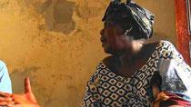 Fatou Diop NIANG, rappresentante delle donne pescivendolo di CNPS ( Collettivo Nazionale dei Pescatori Artigianali del Senegal)