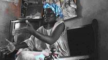 Khady FALL ''Sela'', rappresentante delle donne pescivendolo di CNPS ( Collettivo Nazionale dei Pescatori Artigianali del Senegal)