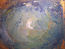 Geburt einer Insel  B . 80 x 60 cm