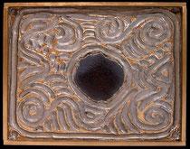 """METALLICON DECUS """"kleiner Goldrand"""" . 40 x 30 cm"""