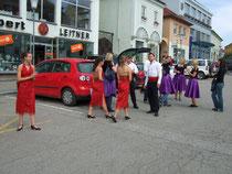 Garderobe am Stadtplatz in Pregarten: 1 Auto