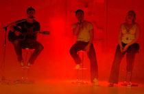 Gesangseinlage von Reinhard Spindelberger, Matthias Streifert und Lisa Maria Fischer