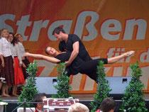 """Sarai Stockinger und Matthias Streifert alias """"Sandy und Danny"""""""