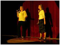 Gesangseinlage von Lisa Maria Fischer und Daniela Lehner