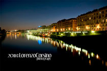 Turin by night - River Po