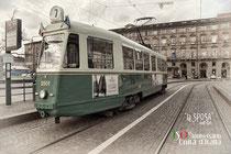 """Motrice 3501 - """"La Sposa"""" anno 1948 - esemplare unico - Anno del restauro 1998 - Posti 142 a sedere 17"""