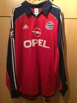 99/00 Bundesliga home Spielertrikot von Antonio Di Salvo vorne