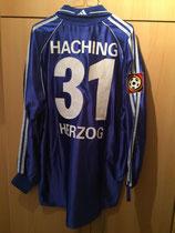 1999/2000 Bundesliga Home Spielertrikot von Hendrik Herzog hinten