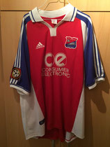 1001/2002 Bundesliga Home Spielertrikot von Jan Seifert vorne