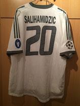 03/04 Champions League away Spielertrikot von Hasan Salihamidzic hinten