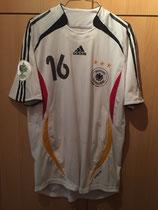 WM 2006 Philipp Lahm vorne