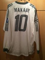 03/04 Champions League away Spielertrikot von Roy Makaay hinten