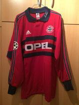 98/99 Champions League Torwart Spielertrikot von Oliver Kahn vorne