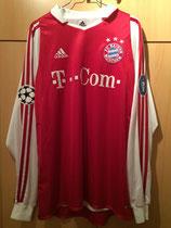 04/05 Champions League home Spielertrikot von Tobias Rau vorne