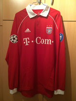 05/06 Champions League home Spielertrikot von Andreas Ottl vorne