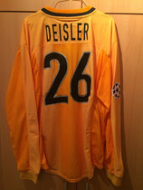1999/2000 Champions League Away Spielertrikot von Sebastian Deisler hinten