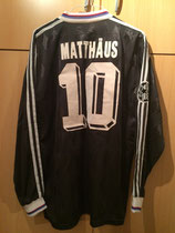 97/98 Champions League away Spielertrikot von Lothar Matthäus hinten