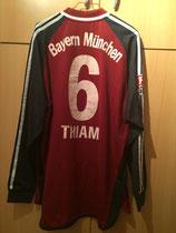 02/03 Bundesliga home Spielertrikot von Pablo Thiam hinten