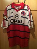 98/99 Bundesliga away Spielertrikot von Carsten Jancker vorne