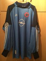 01/02 Weltpokal Torwart Spielertrikot gegen Boca Juniors von Oliver Kahn vorne