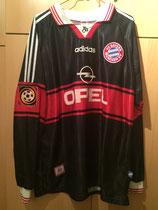 97/98 Bundesliga home Spielertrikot von Frank Gerster vorne