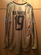 04/05 Champions League away Spielertrikot von Julio dos Santos hinten