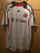 06/07 Bundesliga away Spielertrikot von Mats Hummels vorne