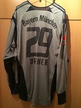 05/06 Japan Tour Torwart Spielertrikot von Bernd Dreher hinten