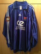 1999/2000 Bundesliga Home Spielertrikot von Hendrik Herzog vorne