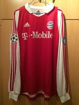 03/04 Champions League home Spielertrikot von Piotr Trochowski vorne