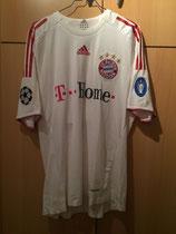 08/09 Champions League Spielertrikot von Massimo Oddo vorne