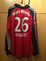 99/00 Bundesliga home Spielertrikot von Antonio Di Salvo hinten