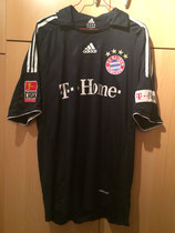 08/09 Bundesliga away Spielertrikot von Breno vorne