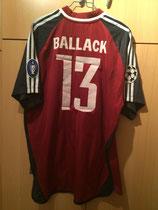 02/03 Champions League home Spielertrikot von Michael Ballack hinten